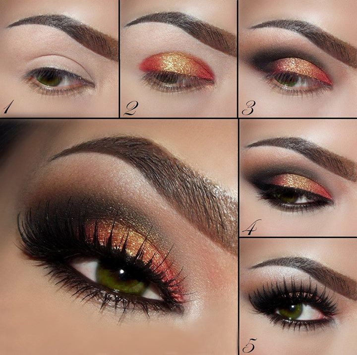 maquillaje de ojos tridimension del color paso a paso